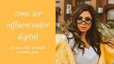Saiba mais sobre os influenciadores digitais e como começar Wayfarer, Look, Sunglasses Women, Ray Bans, Style, Fashion, Fashion Beauty, Get Skinny, Tutorials