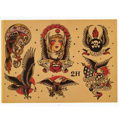 Image detail for -Sailor Jerry Flash Vol. 2 - Hardy Marks Publications and Don Ed Hardy ...