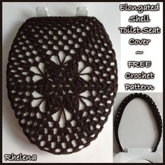 Elongated Shell Toilet Seat Cover ~ FREE