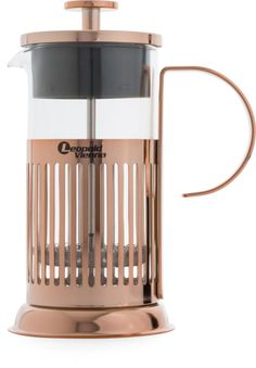 Kaffeebereiter - French Press - Kupfer - 350ml - Leopold Vienna