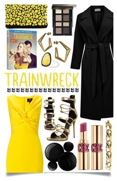 """Date Night, Trainwreck Style"" by ittie-kittie ❤ liked on Polyvore featuring Atterley, Ariella, Giuseppe Zanotti, Stephanie Bates, Christina Debs, Essie, Nails Inc., Bobbi Brown Cosmetics, Yves Saint Laurent and Steffen Schraut"