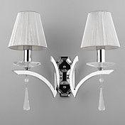 Elegant Wall Light with 2 Lights - Crystal Dr... – USD $ 89.99