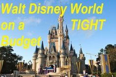 Do you dream of a GREAT Walt Disney World vacation but you're on a REALLY tight budget? Read part 5 of my 7 part series on how to take your trip on a budget! It's a vacation of a life time and you CAN afford it!