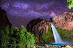Who wants to know how to get to Havasu Falls? Especially to see the Milky Way??