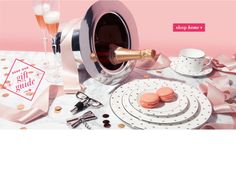home décor, dishware, decorative bowls - kate spade new york ..... if only I could have macrons at every meal!! #home #love