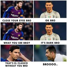 Image may contain: 6 people, text Cr7 Messi, Messi Vs Ronaldo, Cristiano Ronaldo Juventus, Messi Soccer, Lionel Messi, Football Jokes, Football Is Life, World Football, Football Soccer