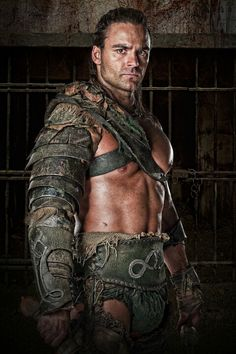 Gannicus from Spartacus series on Starz.