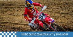 SERGIO CASTRO COMPETIRÁ EN EL MXGP DE INGLATERRA Y FRANCIA