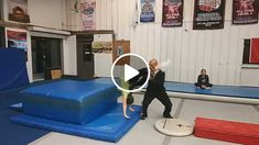 Nothing is worse than having back handsprings with open legs, wide arms, head thrown out and loose. The drill helps fix these issues EARLY! Gymnastics Lessons, Gymnastics Floor, Tumbling Gymnastics, Gymnastics Coaching, Gymnastics Training, Gymnastics Videos, Gymnastics Workout, Olympic Gymnastics, Back Handspring Drills