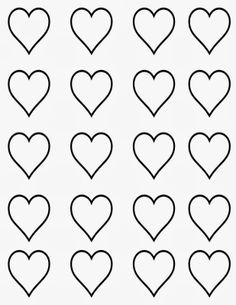 Template for heart shaped macarons Piping Templates, Royal Icing Templates, Royal Icing Transfers, Cake Templates, Printable Heart Template, Heart Shapes Template, Free Printable, Royal Icing Decorations, Chocolate Decorations