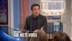 """The trailer features a very fatherly Cory Matthews (Ben Savage), scolding his daughter Riley (Rowan Blanchard) and her best friend Maya (Sabrina Carpenter), aka the new Shawn Hunter. 