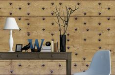 Structure Papier peint offwhite Design Papier Peint Lait Café Marron d/'ornement noble