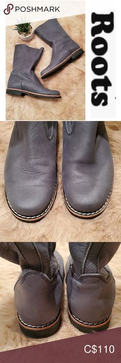 These are beautiful boots that I bought on Poshmark but they are too small. Thought to be a size these are actually a size Roots Shoes Ankle Boots & Booties Bootie Boots, Ankle Boots, Grey Boots, Plus Fashion, Fashion Tips, Fashion Trends, Clogs, Size 10, Booty