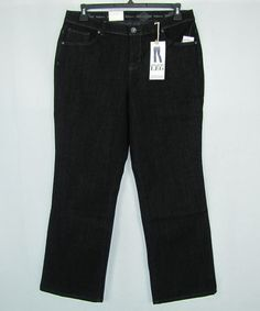 Style & co. Comfort Waist Straight Leg Woman's Jeans Plus Sizes 16WP, 24WP NEW #Styleco #StraightLeg 29.99