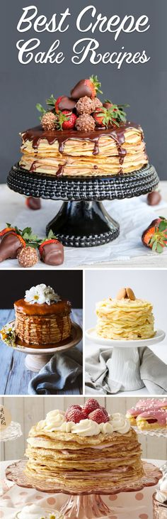 45 Succulent Crepe Cake Recipes Ending Up in A Melt-In-The-Mouth Treat!