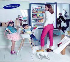 En nuestros refris #Samsung hay espacio para todo. Organizar nunca había sido tan fácil.