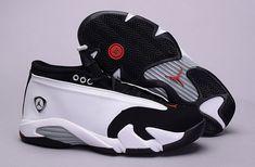 Best Price Air Jordan 14 XIV Black Toe White Black Varsity Red Silver  Discount Sale e333e46ea