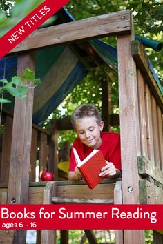 we need this list!! New Chapter Books for Summer Reading, Ages 6 -18