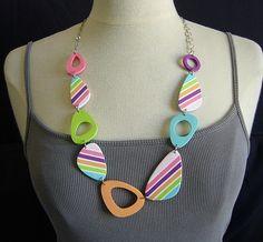 sorbets long necklace Model