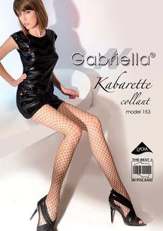 Tights med grovmasket netting. Garnet er dekket med lycra for bedre holdbarhet.