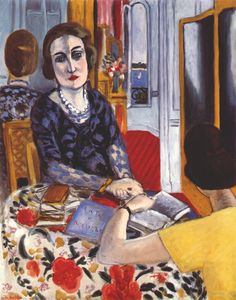 Henri Matisse, The Baroness Gourgaud,1924