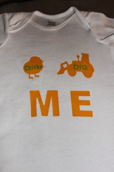 Baby shirt. P&E Creations  http://pandecreations.blogspot.com/search?updated-max=2014-06-02T21:21:00-05:00&max-results=38&reverse-paginate=true