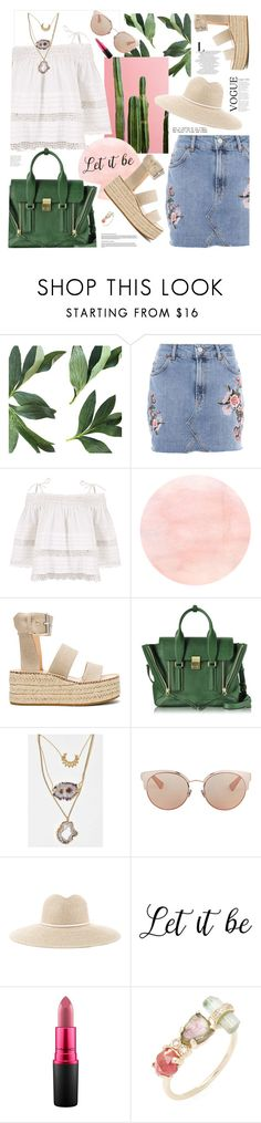 """""""Summer don't go"""" by electric-bird ❤ liked on Polyvore featuring Topshop, Kirei, rag & bone, 3.1 Phillip Lim, Christian Dior, ále by Alessandra, MAC Cosmetics, Jacquie Aiche, polyvoreeditorial and polyvorefashion"""