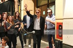 Singer Tom Odell busks on Argyll Street to celebrate the release of his new…