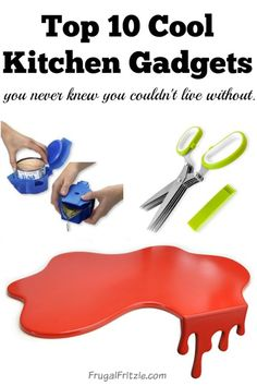10 Cool Kitchen Gadgets .