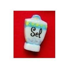 Pot de sel - Fève brillante appartenant à la série 'Délices de Grand-maman'