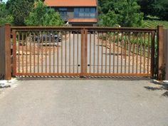 Image result for sliding front driveway gates
