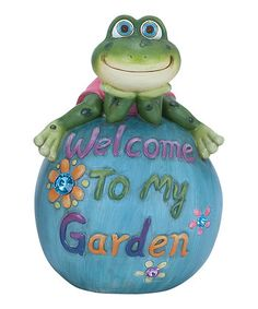 Hop on Home: Outdoor Frog Décor   Styles44, 100% Fashion Styles Sale