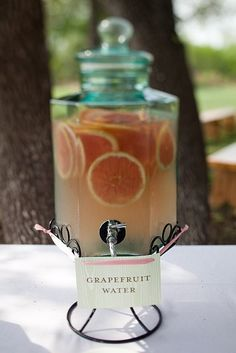 Beverage Display and label