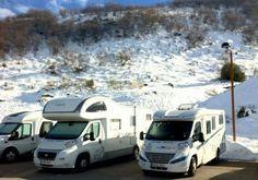 Algunas de las áreas de autocaravanas con las mejores vistas que existen para los que eligen viajar con la casa a cuestas.