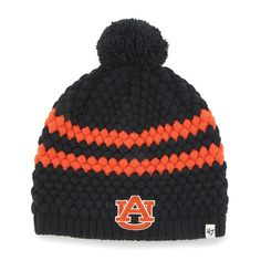 on sale 50e07 a588e Auburn Tigers Women s 47 Brand Kendall Navy Beanie Hat