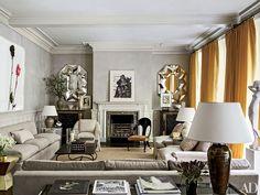 Net-a-Porter founder Natalie Massenet's London Manse Photos | Architectural Digest