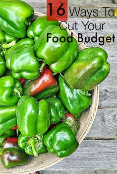 16 Ways To Successfully Cut Your Food Budget