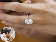 Blake Lively's engagement and wedding rings.