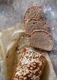 Eltefri focaccia med deilig topping - Mat På Bordet Banana Bread, Bacon, Bakery, Good Food, Muffins, Cooking, Desserts, Breads, Muffin