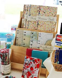 Bookbinding Etsy Street Team: Craft Show Confidential follow-up: Book Display Units