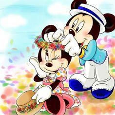 Mickey and Minnie⚘