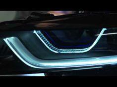 BMW i8 in detail. Laser light. - YouTube