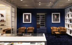 Joseph Cheaney & Sons might be a brand steeped in heritage and history, but their new flagship store is a thoroughly contemporary affair, says Henrietta Thompson