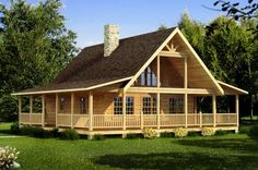 14 Best Log Home Floor Plans images | Log home floor plans, Floor ...