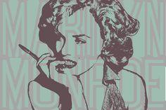 Marilyn Monroe 6 (Peinture),  90x60x2 cm par John Von Brown