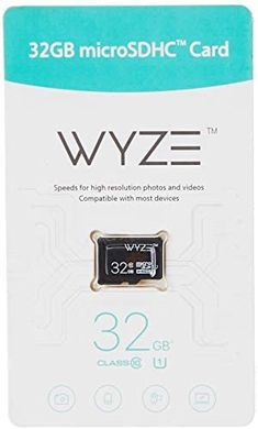 Amazon.com : Wyze Labs Expandable Storage 32GB MicroSDHC Card Class 10, Black - WYZEMSD32C10 : Camera & Photo Home Camera System, Discount Electronics, Pet Camera, Secure Digital, Flash Memory Card, Smart Home Technology, Security Cameras For Home, Works With Alexa, Tech Gifts