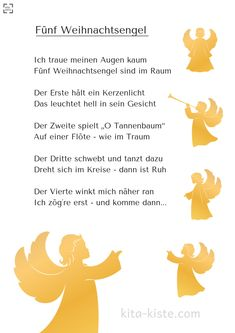 Fünf Weihnachtsengel Magical finger game for the best time of the year in and school – in 2 versions (short: with angel hair [. Christmas Angels, Winter Christmas, Art For Kids, Crafts For Kids, Kindergarten Songs, Tissue Paper Crafts, Turkey Craft, Greatest Songs, Creative Thinking