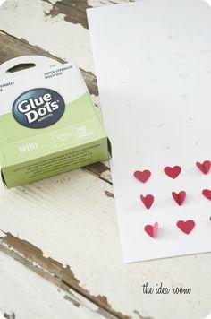 Valentines Day Craft--Heart Specimen Art
