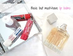 #bblogger #lblogger #beauty #makeup #lipbalms #review #blogger In this post, I am going to be talking about those basic, affordable lip balms that are essential to keep on you at all times. If you're someone like me of course, who can't go anywhere without a l...