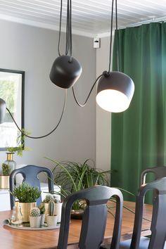Seks stoler ble til ny førsteetasje - Byggmakker+ Decor, Lamp, Ceiling Lights, Fixtures, Light Fixtures, Ceiling, Home Decor, Light